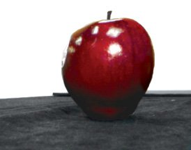 Visible Imaging of Red Apple