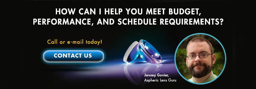 All about Aspheres, contact Jeremey