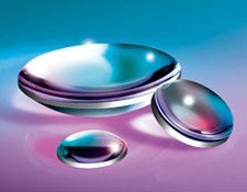 25mm Dia. x 250mm FL UV-VIS Coated, UV Plano-Convex Lens