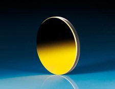 50mm Dia x -25.8mm FL Protected Gold Coated, Convex Mirror