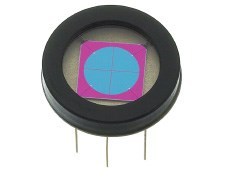 1.61mm<sup>2</sup> Four-Element Segmented Photodiode