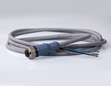 Cable with M12 Connector, 2m Length
