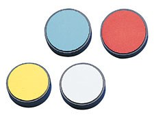Set of 4 Color Standards (Red, Green, Blue, and Yellow)