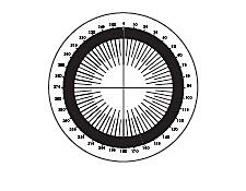 Circular Scale Contact Reticles