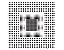 Chrome on Opal, 3 Frequency Grid Distortion Target