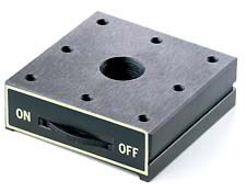 120mm Square Low Profile Magnetic Base